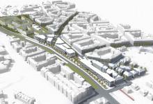 Urbanistická studie Praha – Hradčanská