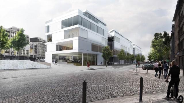 Obchodně administrativní centrum Hradčanská