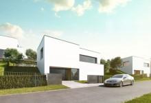 Soubor pasivních rodinných domů Zlín – Boněcko